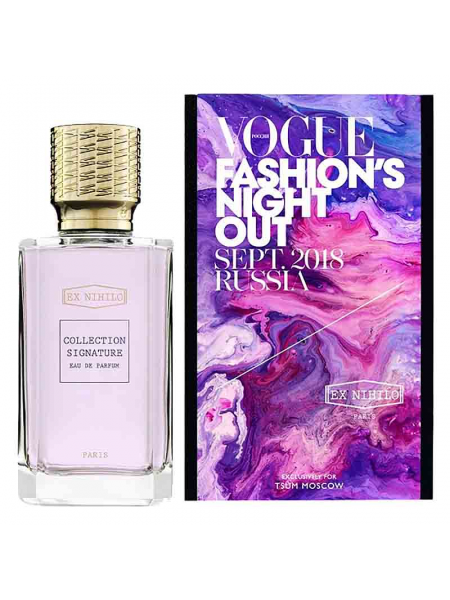 Ex Nihilo Vogue Fashions Night Out Sept 2018 Russia edp 100 ml